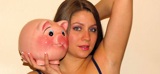 Training & Wallet Raping My pit sniffing piggybank
